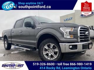 Used 2017 Ford F-150 XLT|4X4|SIRIUS RADIO|REVERSE CAMERA|BLUETOOTH| for sale in Leamington, ON