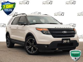 Used 2015 Ford Explorer Sport 1 owner trade for sale in St. Thomas, ON