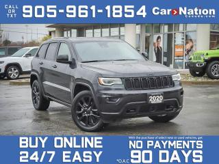 Used 2020 Jeep Grand Cherokee ALTITUDE 4X4 for sale in Burlington, ON