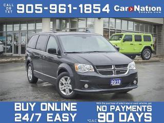 Used 2019 Dodge Grand Caravan Crew 2WD for sale in Burlington, ON