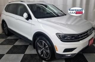 Used 2019 Volkswagen Tiguan 4-motion, Clean CarFax for sale in Cornwall, ON