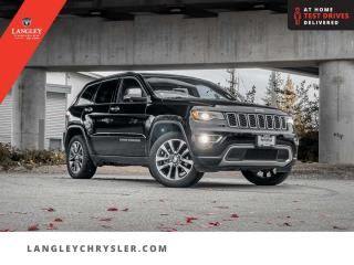 Used 2018 Jeep Grand Cherokee Limited  Hitch/ Leather/ Pano-Sunroof/ Navi/ Backup for sale in Surrey, BC