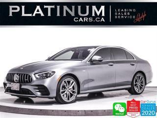 Used 2021 Mercedes-Benz E-Class AMG E53, PREMIUM DRIVER PKG, NAV, 360CAM, PANO for sale in Toronto, ON
