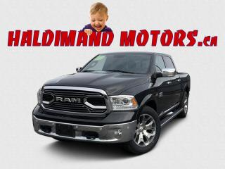Used 2017 RAM 1500 Limited CREW 4WD for sale in Cayuga, ON