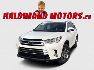 Used 2019 Toyota Highlander LIMITED AWD for sale in Cayuga, ON