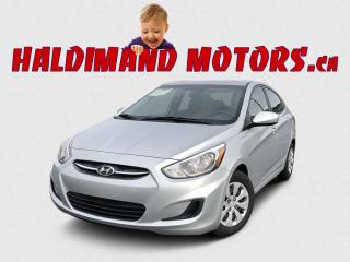 Used 2016 Hyundai Accent GL 2WD for sale in Cayuga, ON