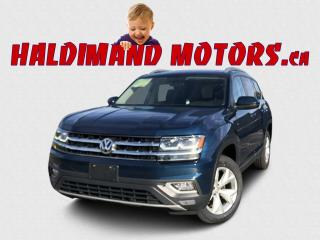 Used 2018 Volkswagen Atlas Highline 4MOTION AWD for sale in Cayuga, ON