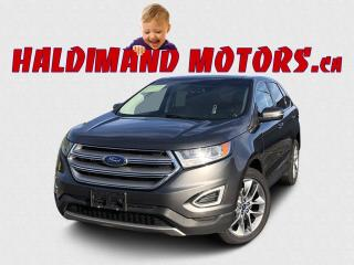 Used 2018 Ford Edge Titanium AWD for sale in Cayuga, ON