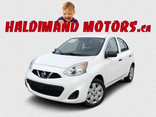 Used 2016 Nissan Micra S 2WD for sale in Cayuga, ON