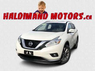 Used 2017 Nissan Murano SV AWD for sale in Cayuga, ON