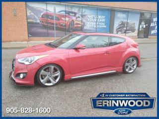Used 2014 Hyundai Veloster Turbo for sale in Mississauga, ON