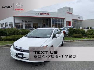 Used 2012 Honda Civic Sdn EX for sale in Langley, BC