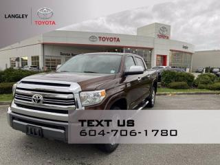 Used 2016 Toyota Tundra Platinum for sale in Langley, BC