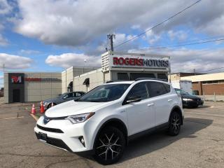 Used 2018 Toyota RAV4 SE - NAVI - SUNROOF - LEATHER - REVERSE CAM for sale in Oakville, ON