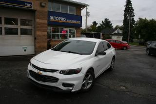 Used 2016 Chevrolet Malibu LS for sale in Nepean, ON