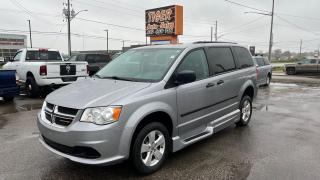 Used 2017 Dodge Grand Caravan WHEELCHAIR ACCESSIBLE VAN*ONLY 85KMS*CERTIFIED for sale in London, ON