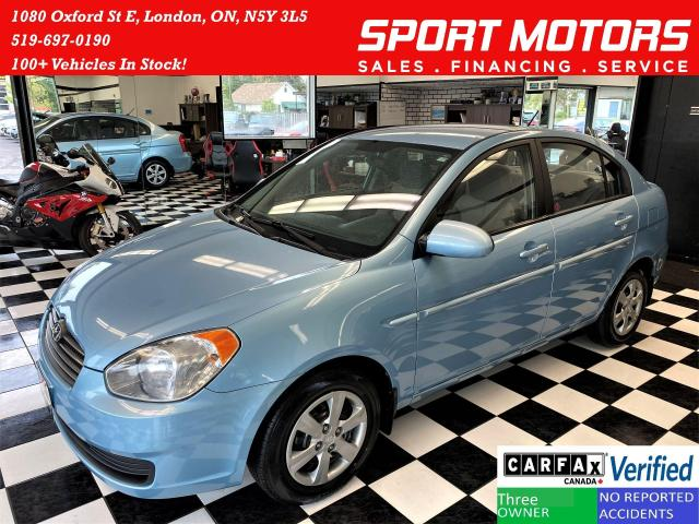 2009 Hyundai Accent GL+New Tires+Power Options+A/C+ACCIDENT FREE