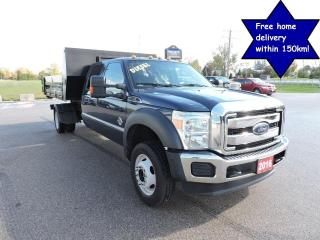 Used 2016 Ford F-550 XLT Diesel 4X4 Crew Dump and detachable box for sale in Gorrie, ON