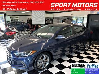 Used 2018 Hyundai Elantra GL+ApplePlay+Camera+Blind Spot+CLEAN CARFAX for sale in London, ON