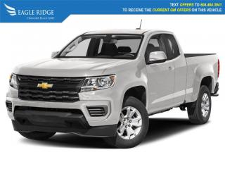 New 2022 Chevrolet Colorado WT Apple CarPlay & Android Auto, Backup Camera for sale in Coquitlam, BC