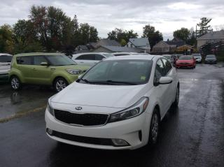 Used 2017 Kia Forte LX HEATED SEATS. A/C. POWER GROUP. BLUETOOTH. for sale in North Bay, ON