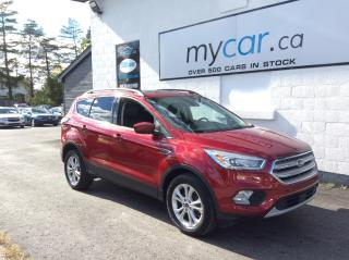 Used 2018 Ford Escape SEL LEATHER. NAV. SUNROOF. HEATED SEATS. BACKUP CAM. for sale in North Bay, ON