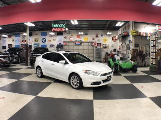 Used 2013 Dodge Dart Limited AUTO SUNROOF NAVI LEATHER BLUETOOTH for sale in North York, ON