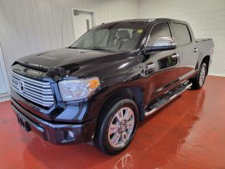 Used 2017 Toyota Tundra Platinum Crew 4x4 for sale in Pembroke, ON