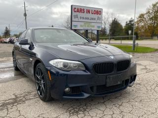 Used 2011 BMW 5 Series 535I XDRIVE M PACKAGE for sale in Komoka, ON