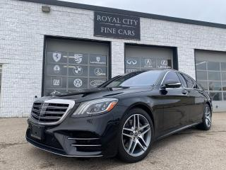 Used 2018 Mercedes-Benz S-Class S 560 LWB/ CLEAN CARFAX/ AMG PACKAGE for sale in Guelph, ON
