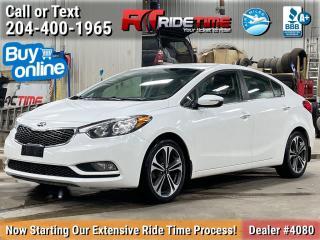 Used 2014 Kia Forte EX for sale in Winnipeg, MB