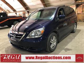 Used 2005 Honda Odyssey for sale in Calgary, AB