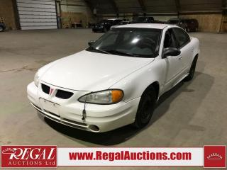Used 2005 Pontiac Grand Am SE for sale in Calgary, AB