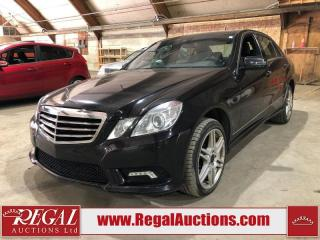 Used 2010 Mercedes-Benz E-Class E550 for sale in Calgary, AB
