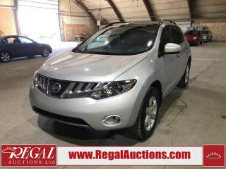 Used 2009 Nissan Murano SL for sale in Calgary, AB