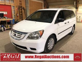 Used 2010 Honda ODYSSEY DX for sale in Calgary, AB