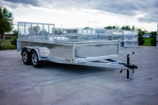 Used 2022 Utility Trailer 7x16 Tandem Axle 3 Incoming for sale in Kincardine, ON