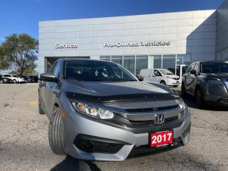 Used 2017 Honda Civic EX ONE OWNER ACCIDENT FREE TRADE WITH ONLY 35353 KMS for sale in Toronto, ON