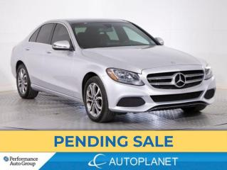 Used 2017 Mercedes-Benz C 300 4MATIC, Navi, Pano Roof, Blind Spot Assist! for sale in Brampton, ON