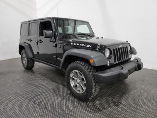 Used 2018 Jeep Wrangler JK Unlimited Rubicon CUIR- AWD for sale in Laval, QC