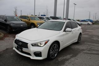 Used 2017 Infiniti Q50 3.0L S for sale in Whitby, ON