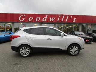 Used 2012 Hyundai Tucson LTD! AWD! NAVI! SUNROOF! for sale in Aylmer, ON