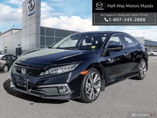 Used 2019 Honda Civic Sedan Touring for sale in Thunder Bay, ON