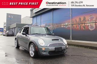 Used 2007 MINI Cooper CONVERTIBLE S - Non Smoker, Leather, Sporty Convertible! for sale in Vancouver, BC