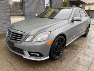 Used 2010 Mercedes-Benz E550 4Matic for sale in Nobleton, ON
