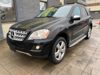 Used 2009 Mercedes-Benz ML-Class ML350 4MATIC for sale in Nobleton, ON