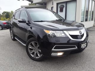 Used 2012 Acura MDX Elite Package - LEATHER! NAV! BACK-UP CAM! BSM! DVD! 7 PASS! for sale in Kitchener, ON