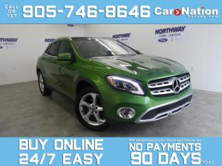 Used 2018 Mercedes-Benz GLA GLA 250 | AWD | SUNROOF | LEATHER |BRAND NEW TIRES for sale in Brantford, ON
