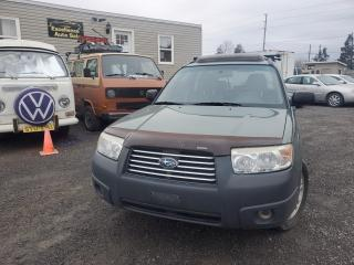 Used 2007 Subaru Forester 2.5X for sale in Stittsville, ON