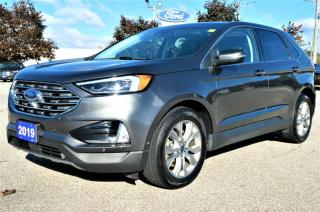 Used 2019 Ford Edge Titanium   Navigation   Blind Spot   Heated Seats for sale in Essex, ON